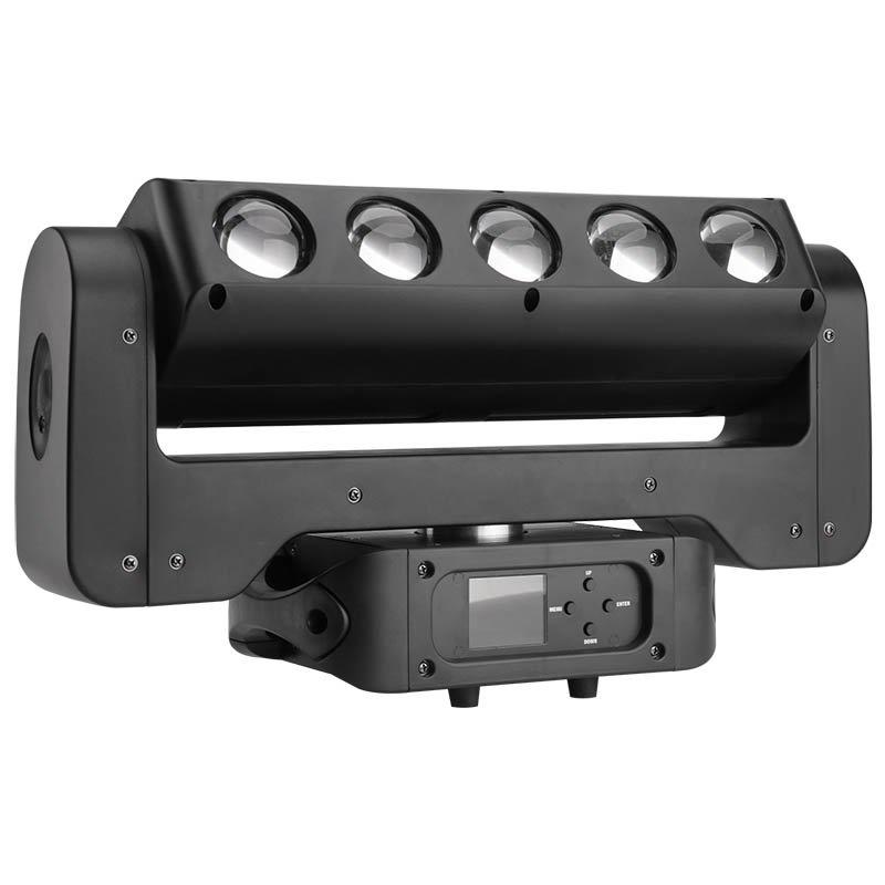 Beam And Strobe LED Wash Moving Head Lights MS-CMB40-W