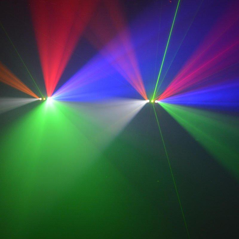 laserstrobeled logo led effect light Marslite Brand
