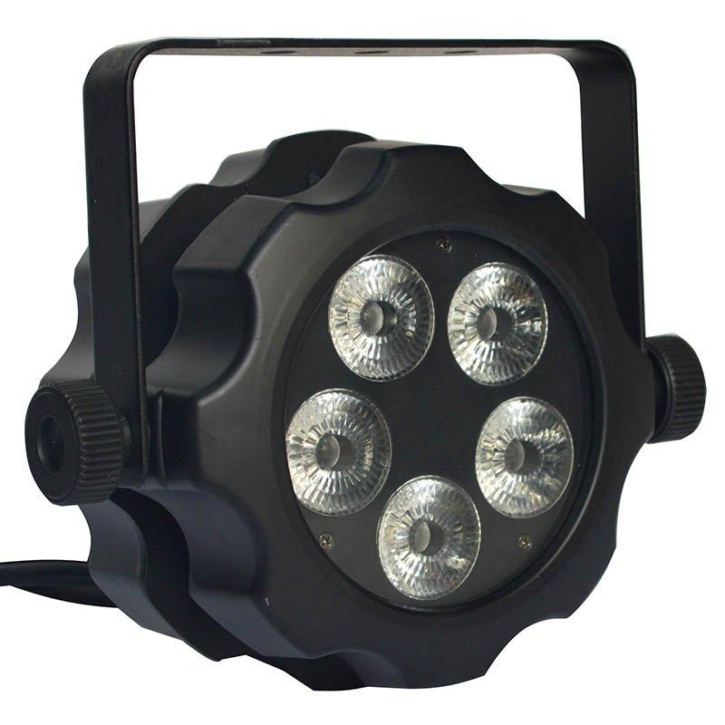 Mini Waterproof 6in1 LED Par Light 5x18W RGBWA+UV MS-BW56