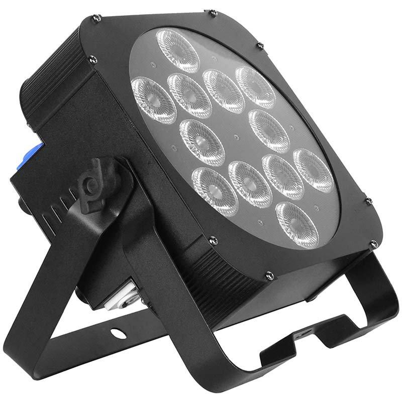 LED Flat Par Stage Light 12*18W RGBWAUV 6IN1 MS-CP612