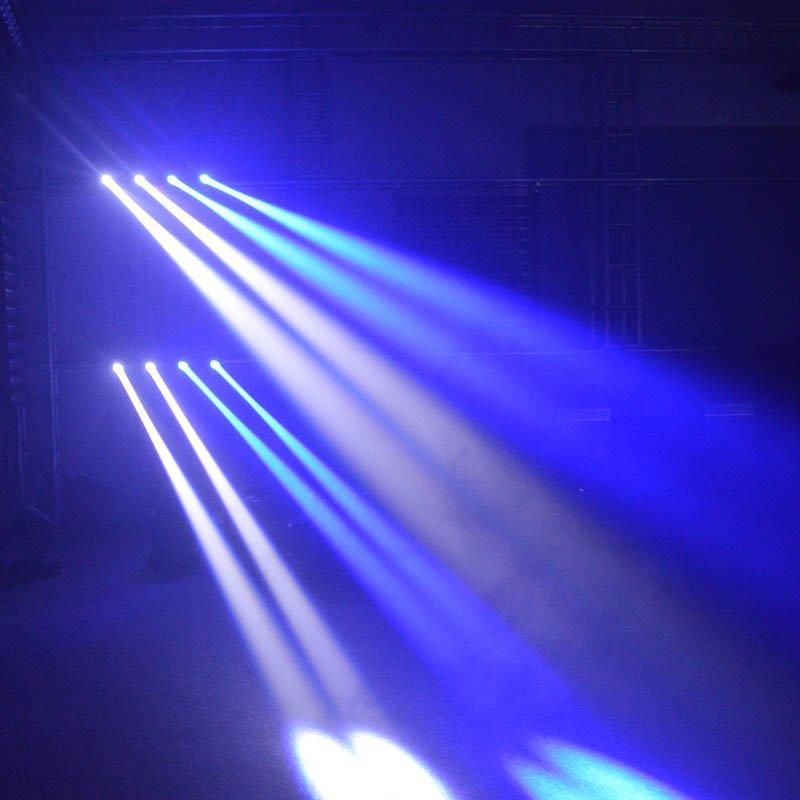 7pcs rgbwauv spider led moving head light Marslite Brand