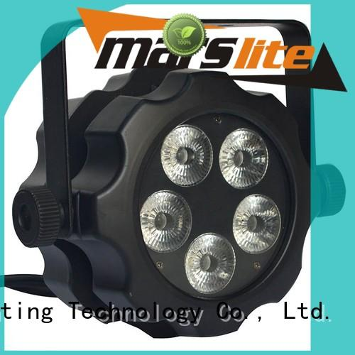 rgbwauv 9x18w led par lights professional tricolor Marslite company