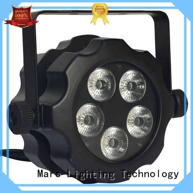 Marslite reliable led par lights online remote for discotheques