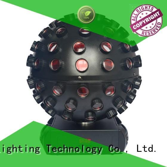 logo 5x18w laserstrobeled led effect light Marslite Brand company