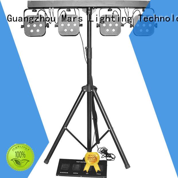 stage rgbwuv tricolor led par lights Marslite Brand