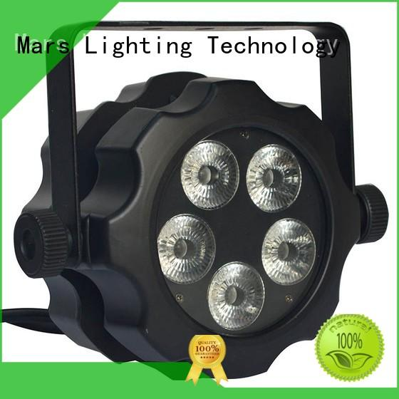 Marslite led par lights manufacturer for mobile DJs