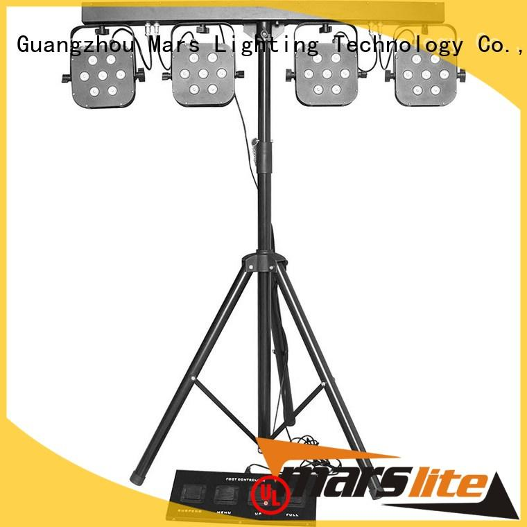 Marslite durable mini par led with different visual effects for discotheques