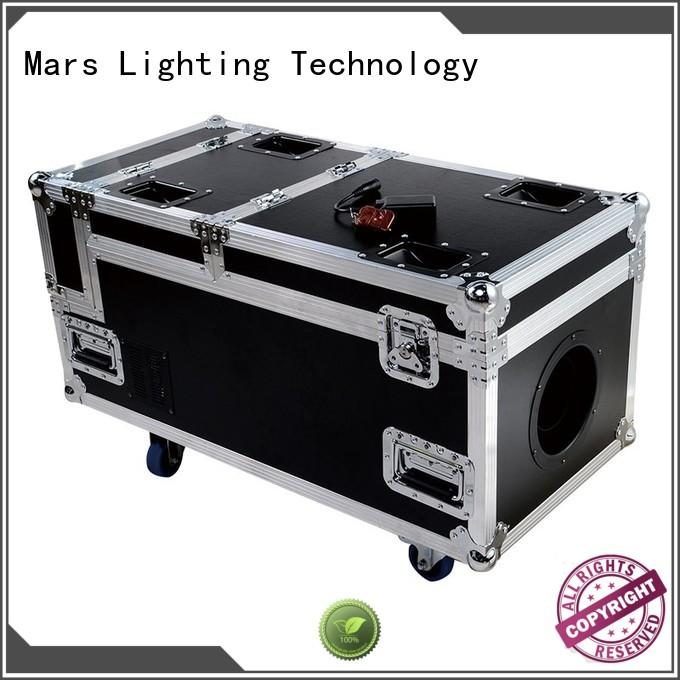 Marslite multi-color smoke fog machine with different visual effects for night club