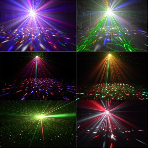 Marslite Laser+Strobe+LED Effect DJ Light  Marslite MS-ML08 LED Effect Light Series image16
