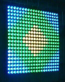 LED COB MDX Matrix Wash Light Marslite 25x10w RGB Color MS-MTX25