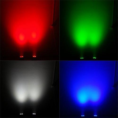 Mini 6in1 LED Moving Head Light 5X18W RGBWAUV MS-CM05