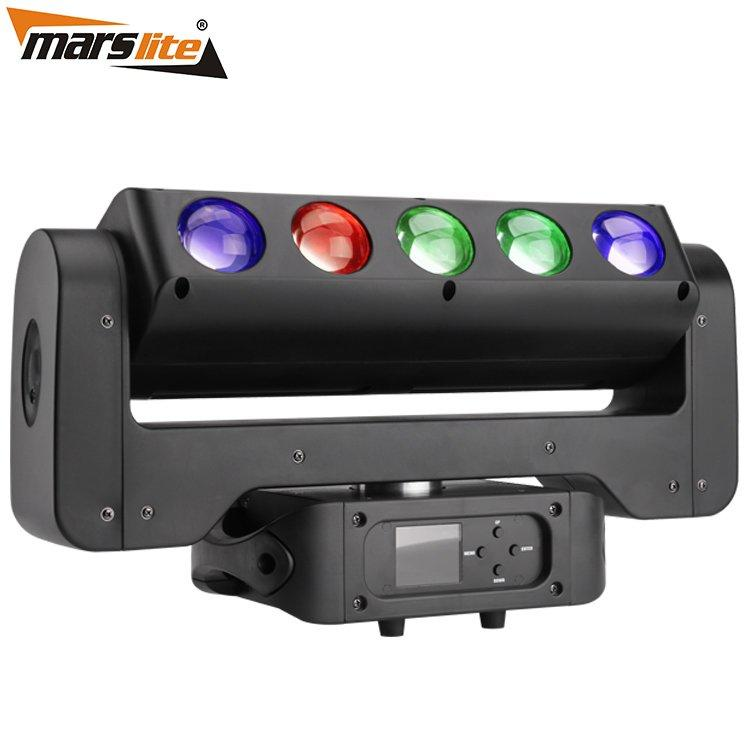 Razor Combination LED Moving Head Light RGBW 4in1 Beam And RGB Strobe MS-CMB40-5RGB