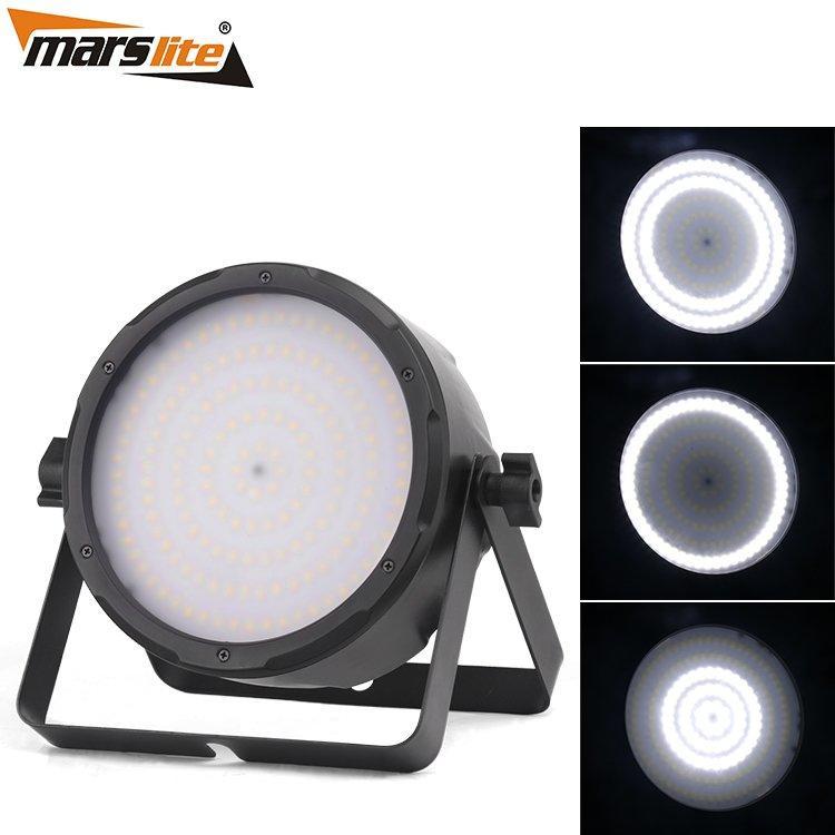 LED Strobe Flat Par Light Marslite 160x0.5W White MS-ST160