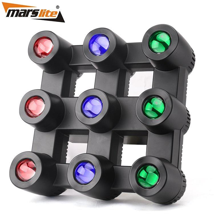 3X3 LED Matrix blinder Light  RGBW 4in1 Club Lighting  MS-MTX9FC