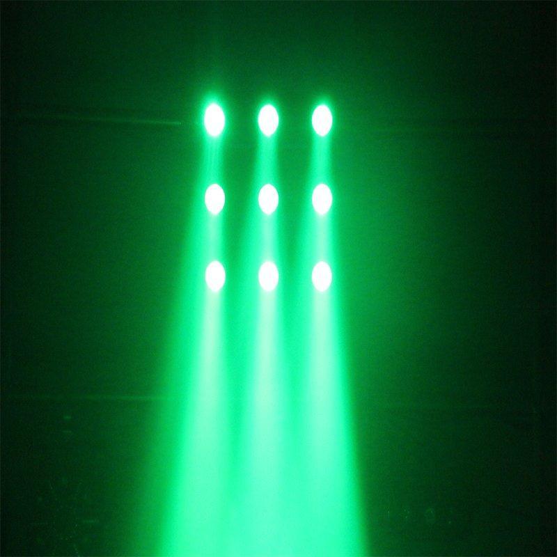 3X3 LED Matrixblinder Light  RGBW 4in1 Club Lighting  MS-MTX9FC