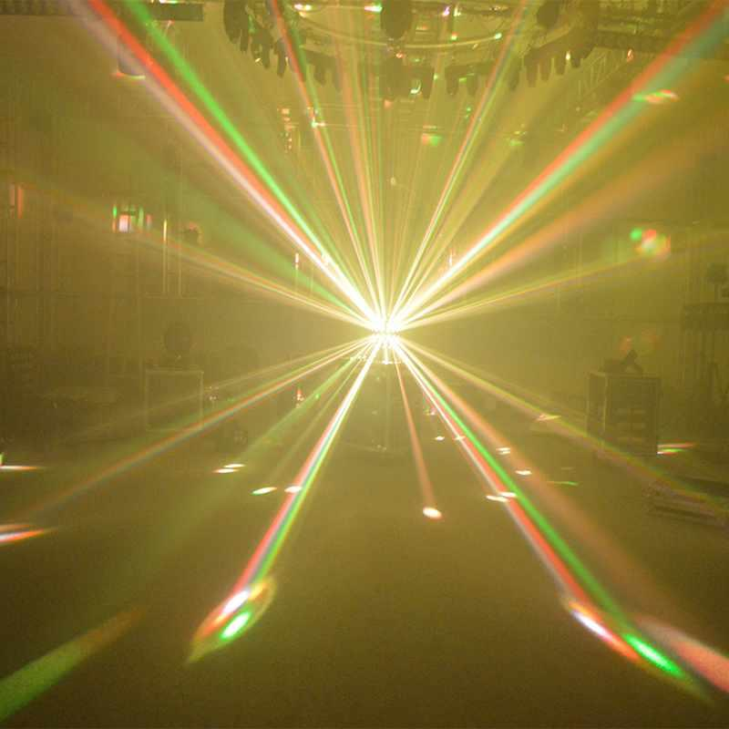 Super LED Rotating Magic Ball Disco Light 5X18W RGBWA+UV 6IN1 MS-MB56