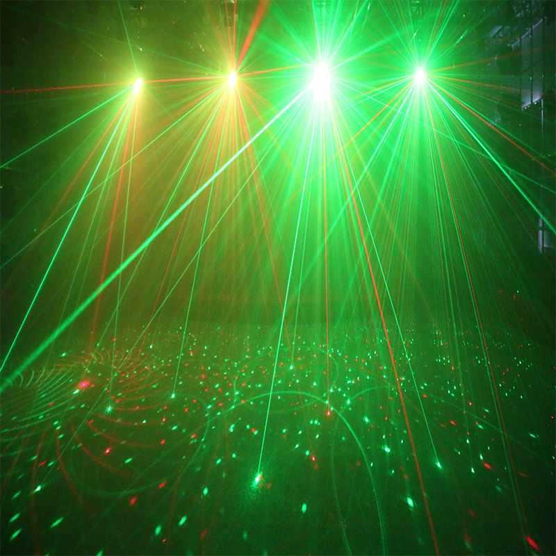 LED DJ Light Marslite Laser And Strobe Led Effect MS-ML04