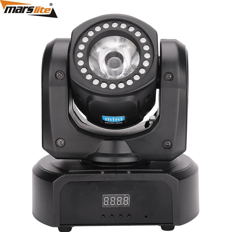 Mini 24+1 LED Pocket Beam Moving Head Light Marslite MS-711