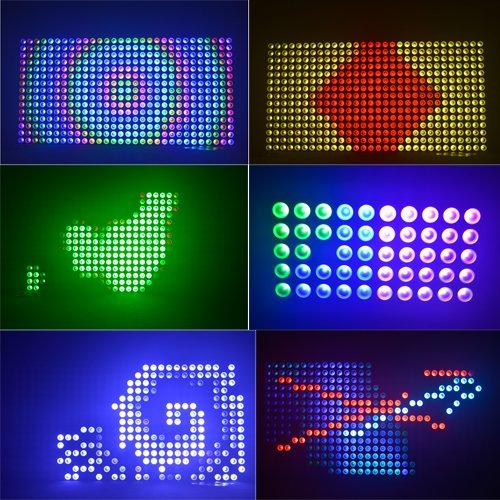10W RGBW 4IN1 LED Matrix Blinder Light 25*10W Quad Color MS-MQD25
