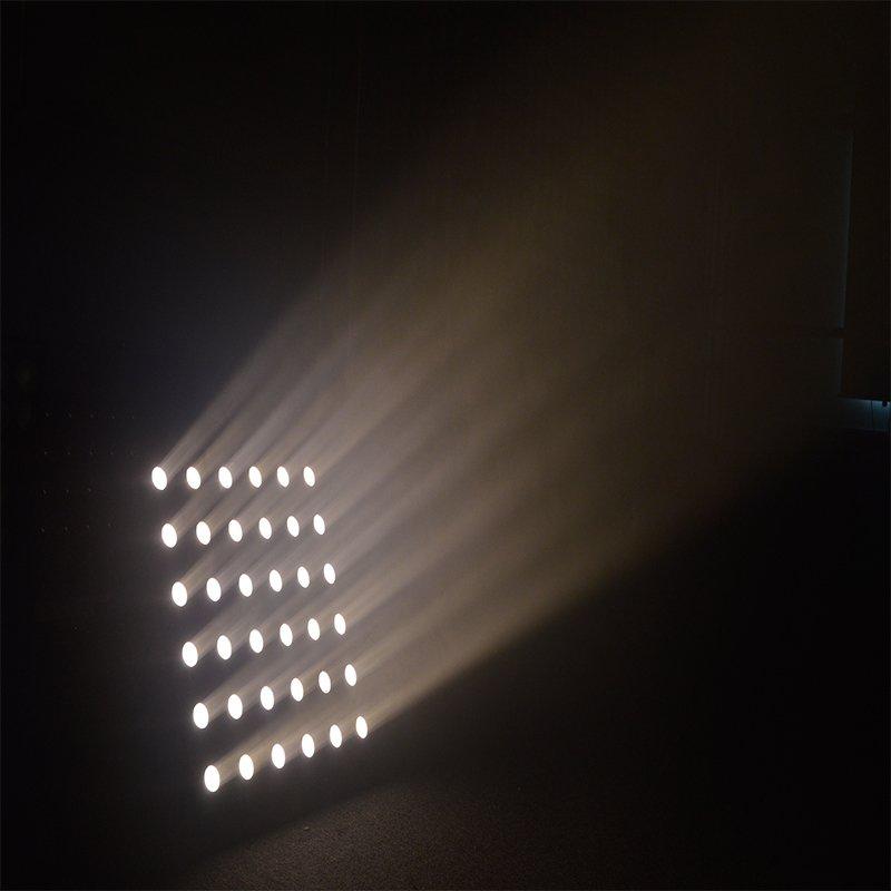 Marslite Infinity Sharpy Beam LED Matrix Light  MS-MTX36-WW LED Matrix Blinder Series image12