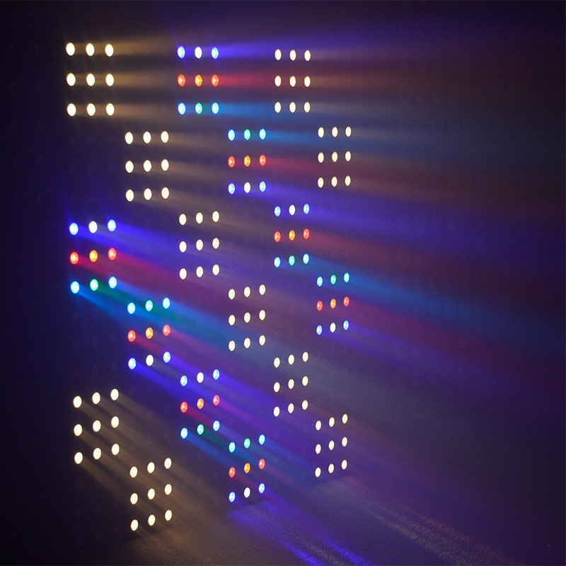 different rgb led matrix stage with RGBW tri-color COB LED fro night bar-4