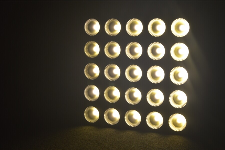 Marslite different led matrix rgb supplier for club-4
