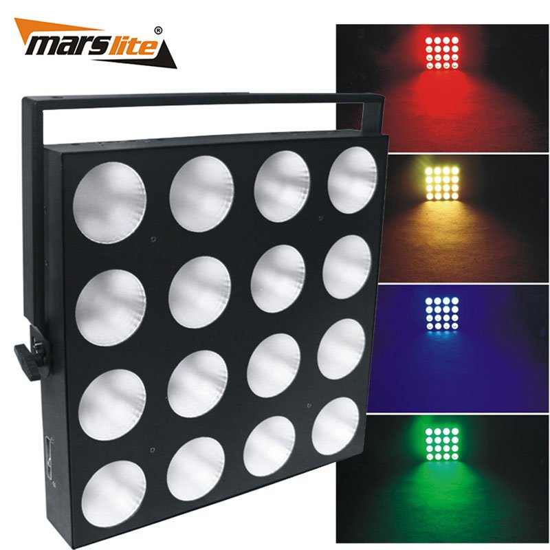 Marslite Marslite Slim LED COB Matrix Panel Light 16x30W RGB Color MS-16TS LED Matrix Blinder Series image10