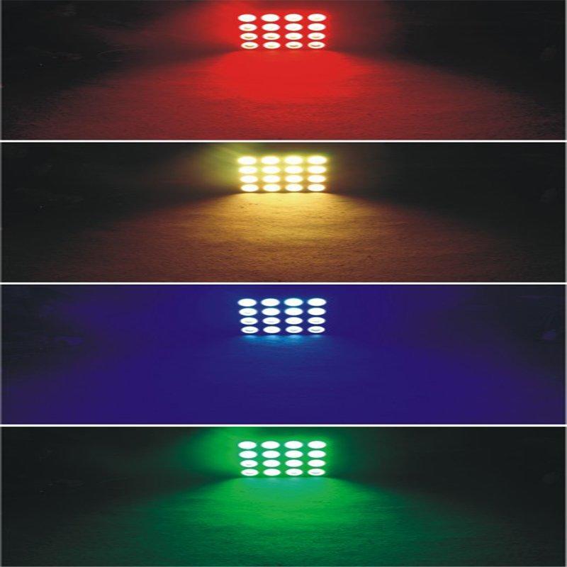 Marslite Slim LED COB Matrix Panel Light 16x30W RGB Color MS-16TS