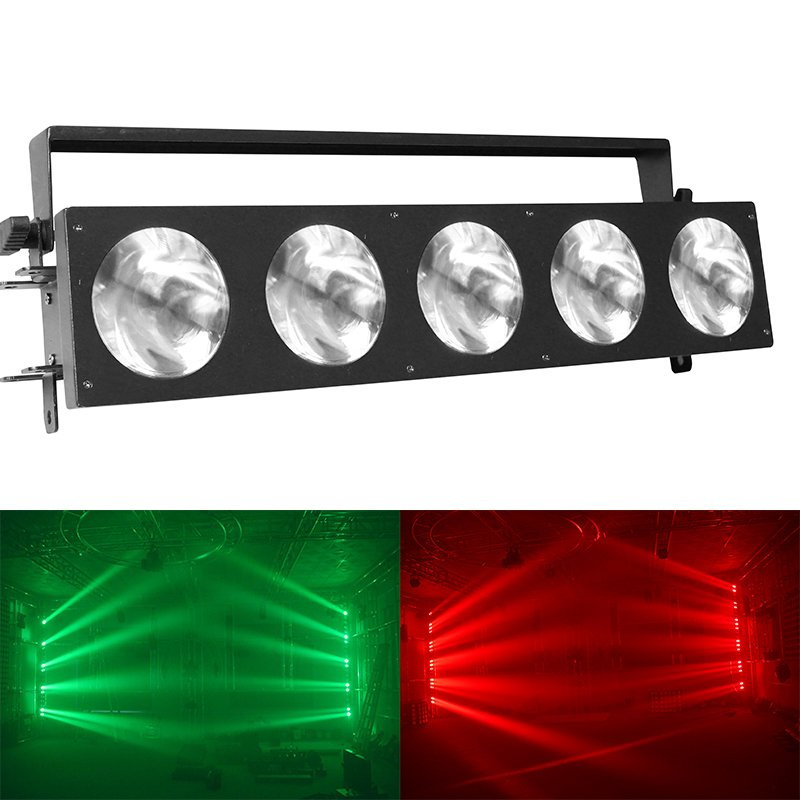 Marslite Marslite Matrix Beam Bar Light 5pcs 10W RGB 3in1 LED MS-CB50B LED Matrix Blinder Series image8