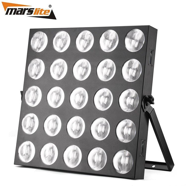 Led Matrix Blinder Light 25X10W Wram White MS-MTX25B-WW