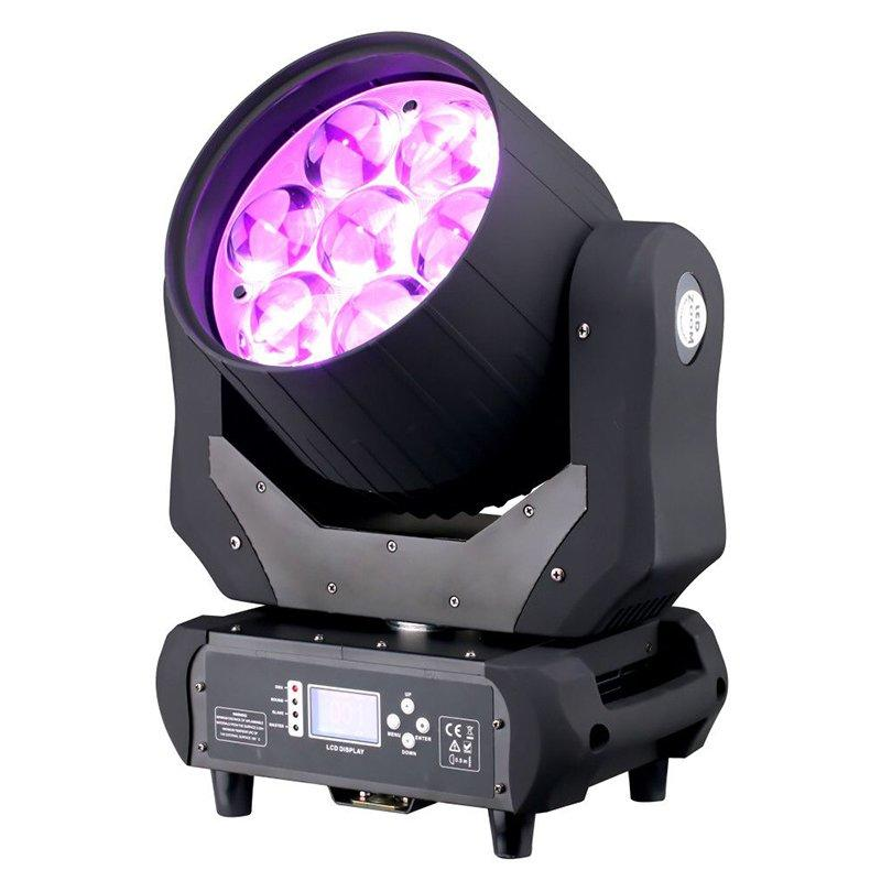 Marslite zoom led moving head light for bar