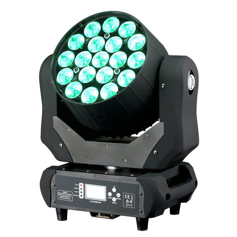 Marslite LED Moving Head Light Zoom 19X12W RGBW MS-1912 LED Moving Head Series image1