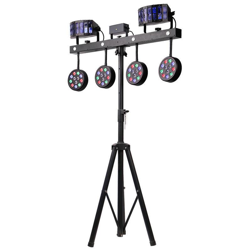 Combination Effect Par System LED Stage Lighting Marslite MS-ES4-12RGBW