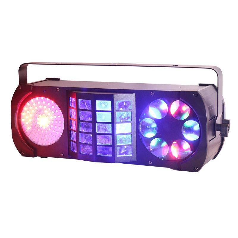 Radio Strobe Gobo Laser Derby Wash Effect Stage Light MS-CB08