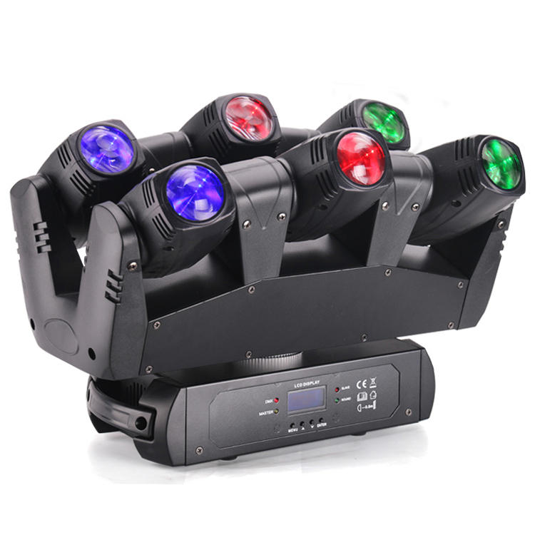 LED SIx Shooter Sharpy Beam Moving Head Stage Light MS-MT16XY