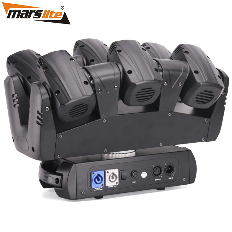 Marslite LED SIx Shooter Sharpy Beam Moving Head Stage Light MS-MT16XY LED Moving Head Series image28
