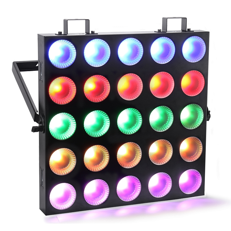 Marslite 10W RGBW 4IN1 LED Matrix Blinder Light 25*10W Quad Color MS-MQD25 LED Matrix Blinder Series image13