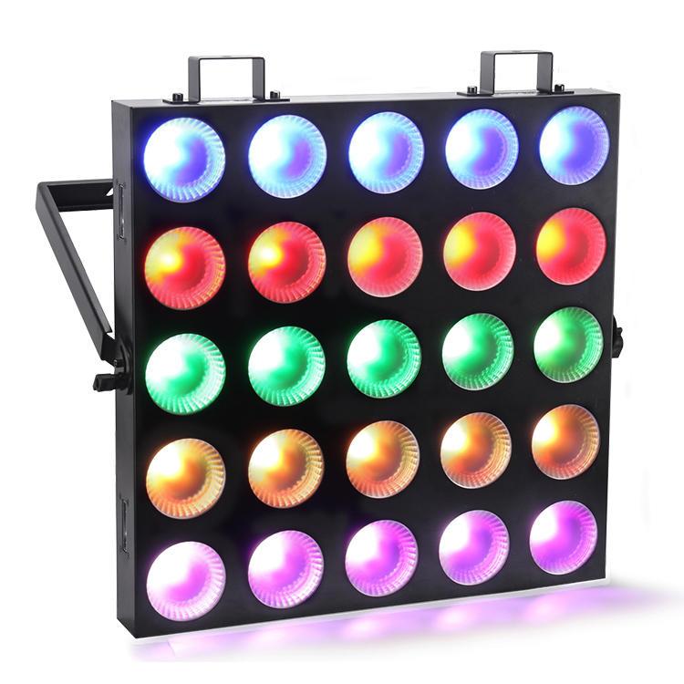 10W RGBW 4IN1 LED Matrix Blinder Light 25*10W Quad Color MS-MQD25