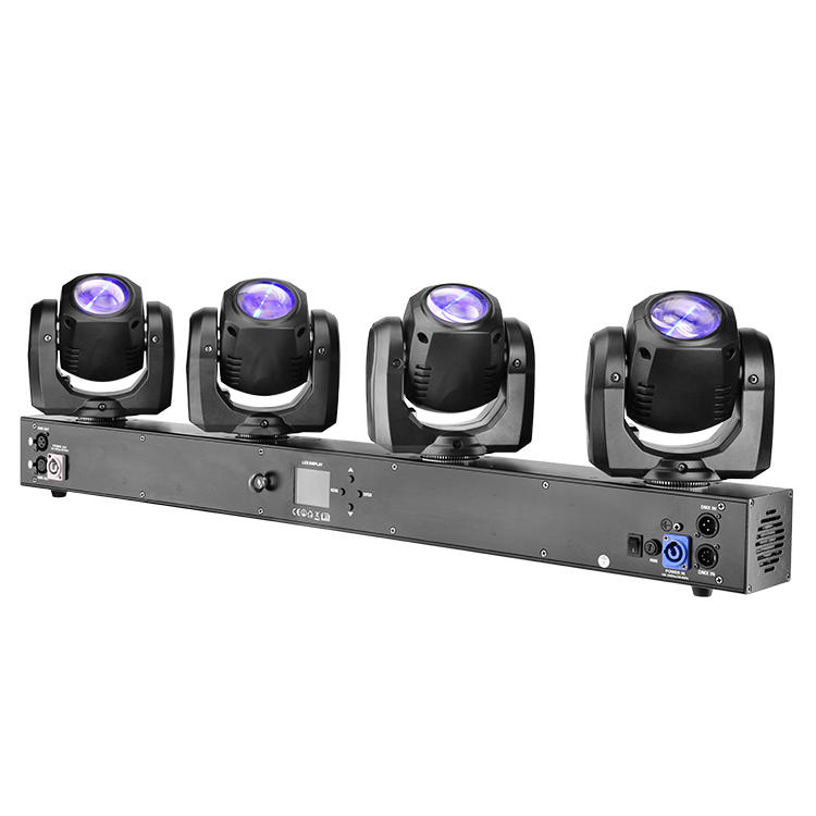 Moving Head 4*32W RGBW 4IN1 Beam Bar Light MS-MPS4-32FC