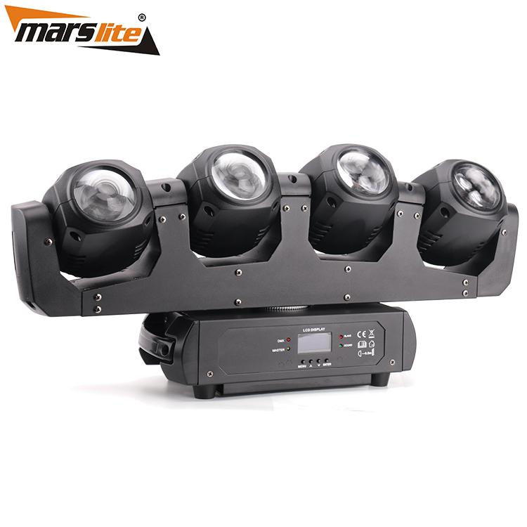 Marslite Four Head Infinity Rotation LED Moving Head Light MS-MF4-32FC LED Moving Head Series image31