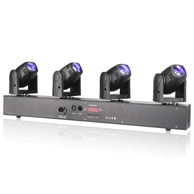Marslite Strip Four Head LED Beam Moving Head Bar Light MS-MPS4 LED Moving Head Series image30