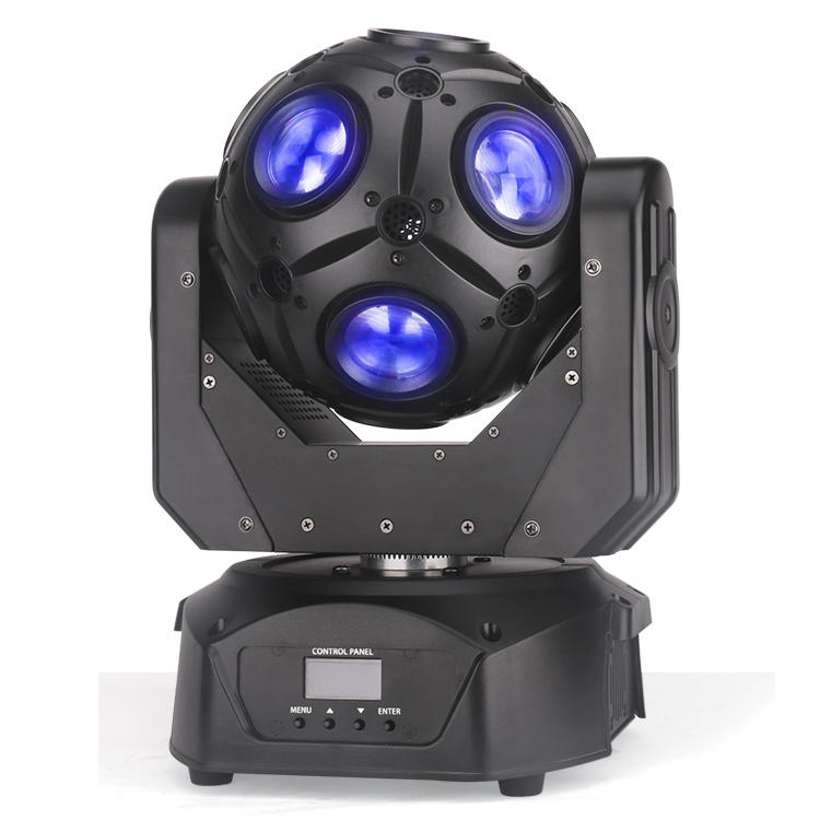 LED Star Ball Moving Head DJ Light 12X10W RGBW MS-FB1210