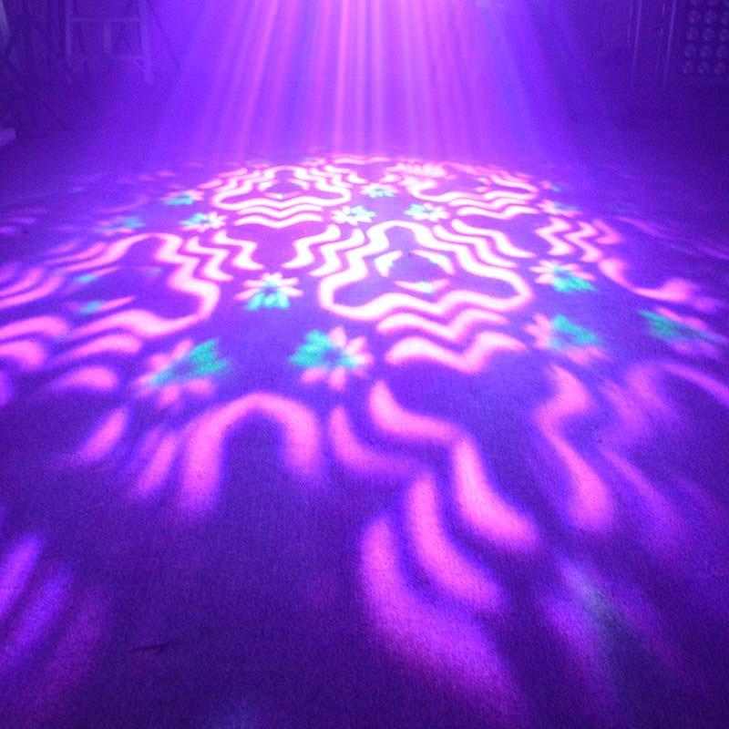 creative led par can lights with unique hues and attention-grabbing effects for DJ moving show