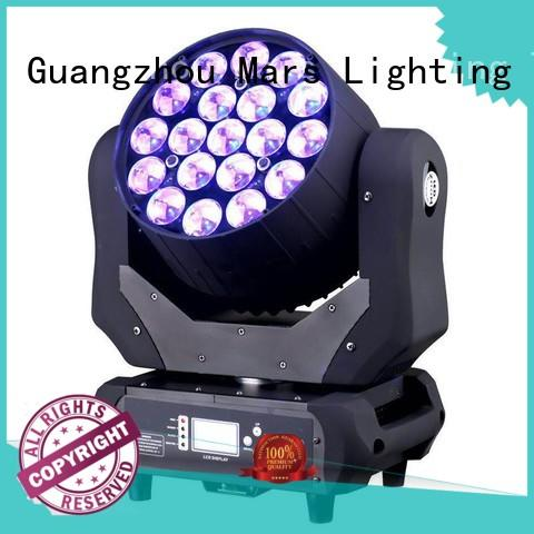 LED Moving Head Light Zoom 19X12W RGBW MS-1912