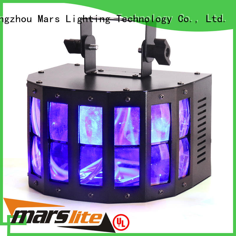 stage laserstrobeled led effect light 5x18w projector Marslite company