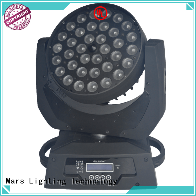 smooth moving head led stage lights 3in1 supplier for disco