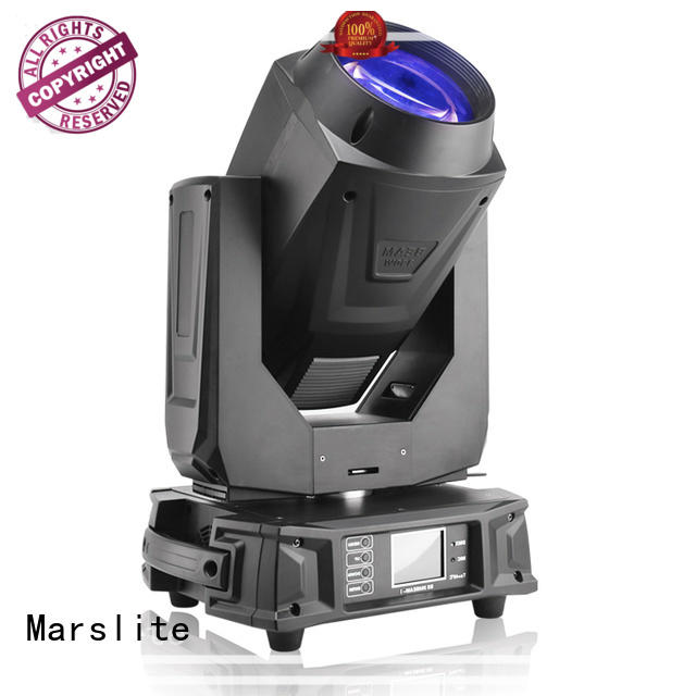Marslite colorful beam moving head light series for stage