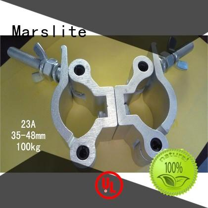 Marslite signal led stage spotlights white clamp for connecting