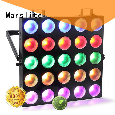 disco matrix led with RGBW tri-color COB LED fro night bar Marslite