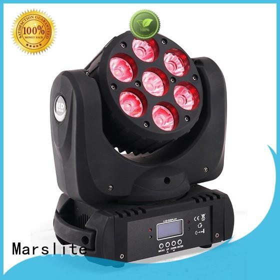 Marslite adjustable mini moving head for bar